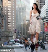 Kim Kardashian Rampage by Nikemd