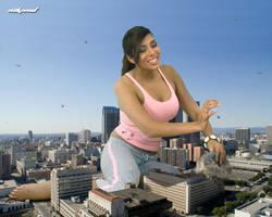 Enjoying Her New Size by Nikemd