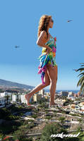 Beyonce on Vacation by Nikemd