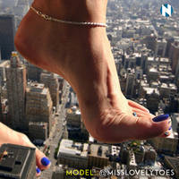 Mischievous Toes by Nikemd