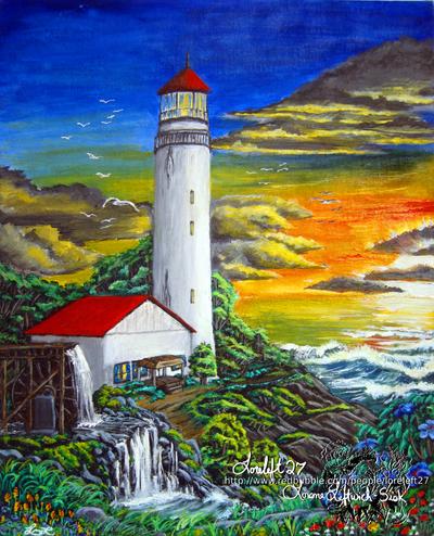 Rusty Lighthouse by loreleft27