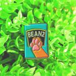 Toe Beanz Soft Enamel Pin by Rainbowmonkkeys