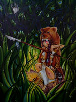 Jungle savage girl
