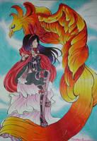 [GIFT]Phoenix by kathe-cat