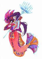Mermaid by kathe-cat
