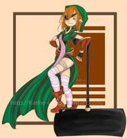 Hammer Girl by kathe-cat