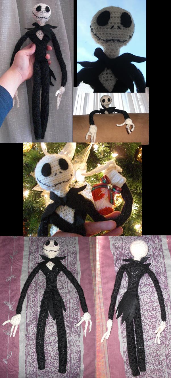 Amigurumi Kangaroo Crochet Pattern : JACK SKELLINGTON amigurumi by IgnisDraconi on DeviantArt