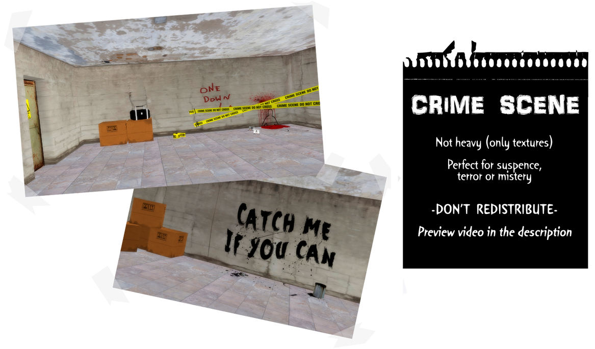 MMD Crime Scene Stage by IgnisDraconi