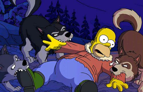Homero Simpson by juliazn14