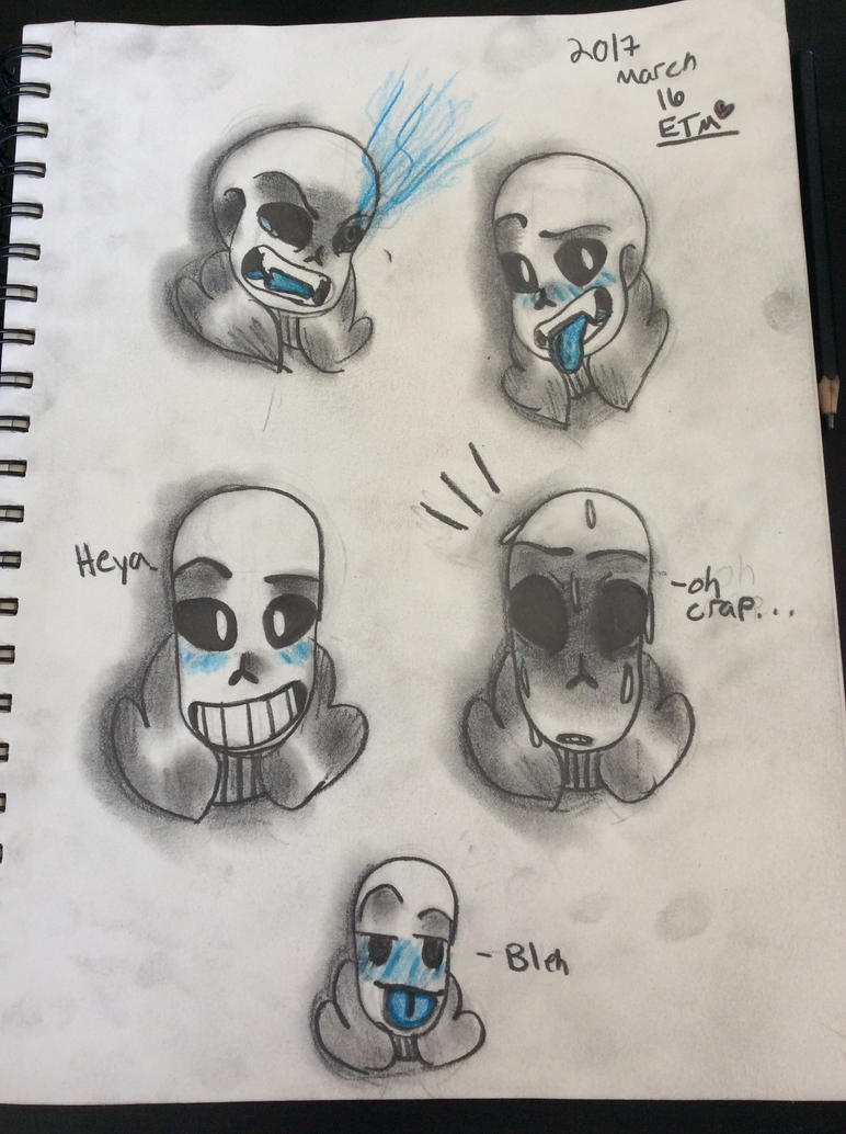 Undertale Sans by EmmyTheMiner
