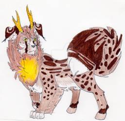 gen 1 Vana male- Kaius by The-One-True-Koneko