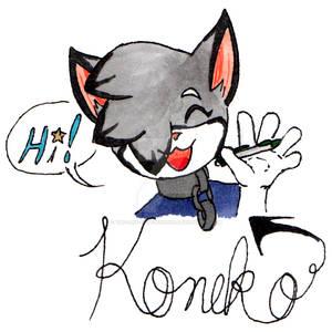 It's Koneko!
