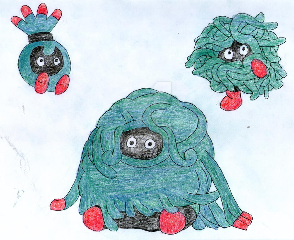 Fakemon: Tanshrin, Tangela and Tangrowth by ...