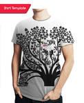 xo shirt template
