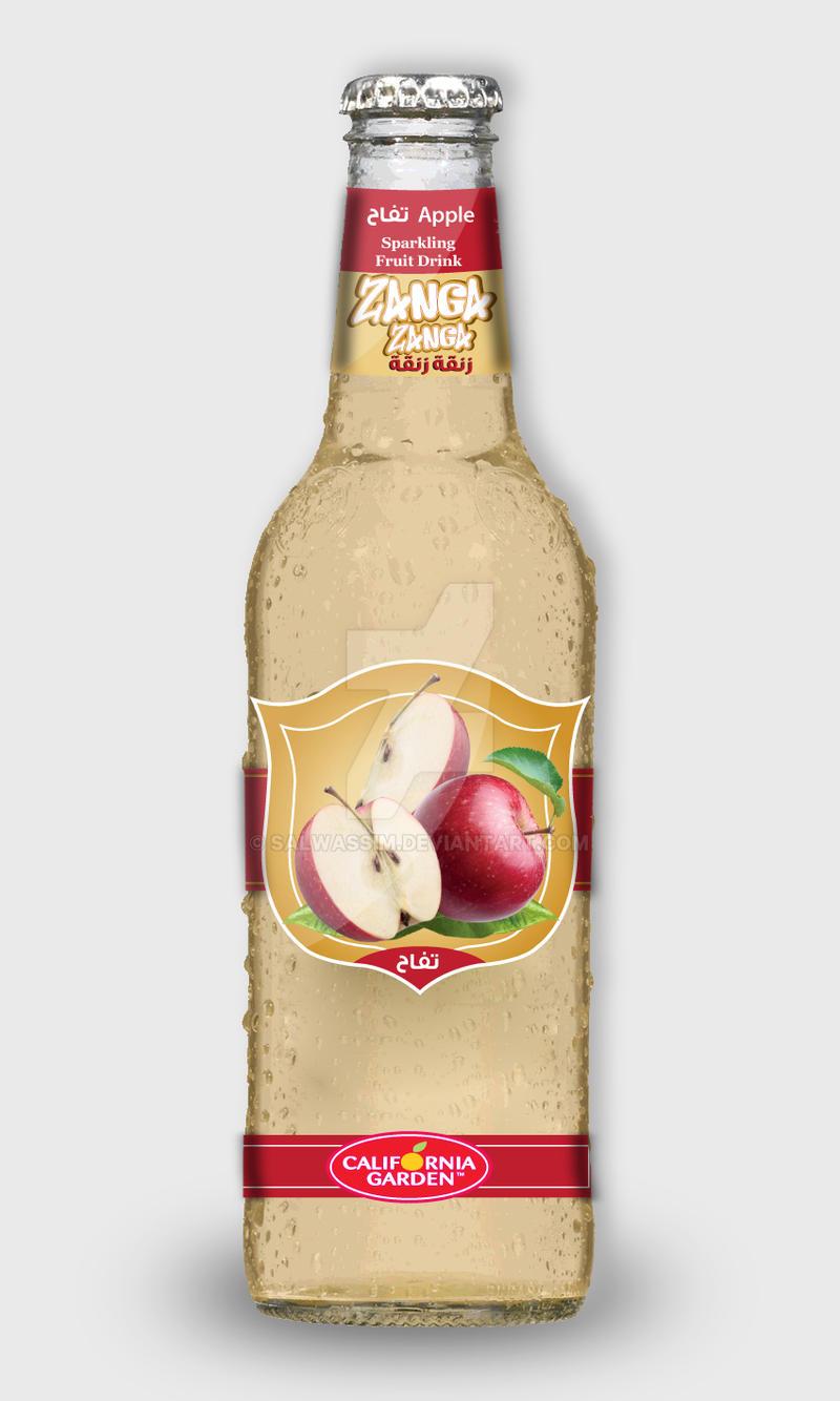 ZangaZanga- Apple Fruit Drink by salwassim