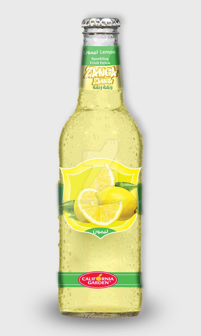 ZangaZanga- lemon Fruit Drink by salwassim