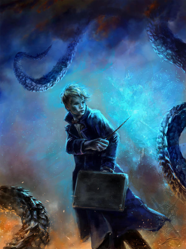 Newt Scamander (FA) by keyjleen