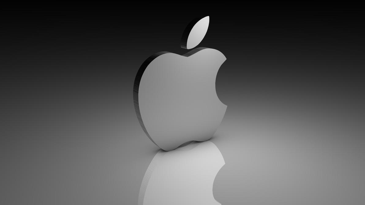 3D Apple Logo Wallpaper  P Logo Wallpaper
