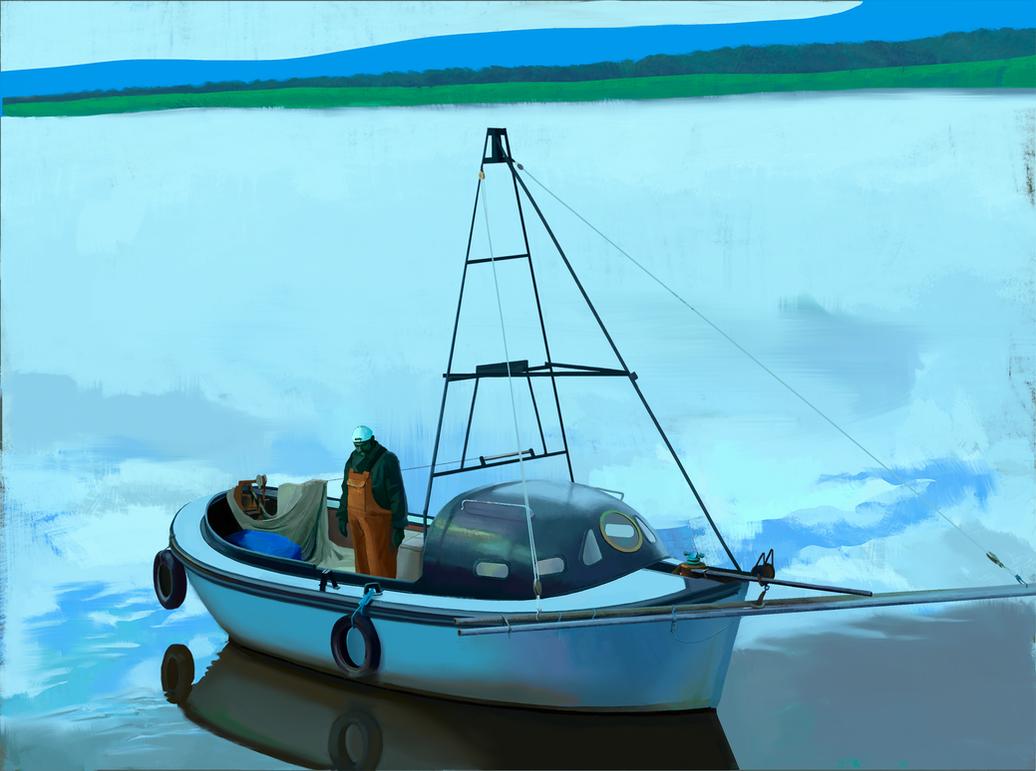 Final boat 1 by AsodR