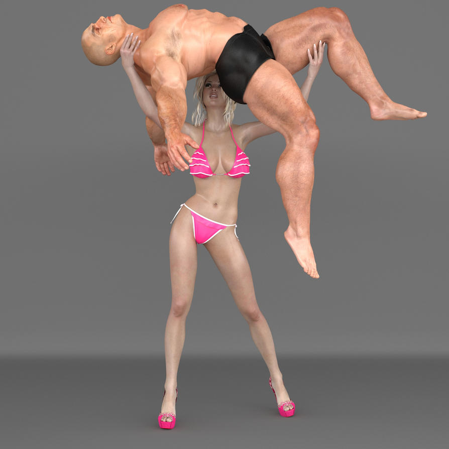 3d amazon women dominating tinny man fucks scenes
