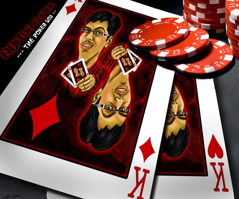 Caricature- Poker King by xyzofart on DeviantArt