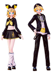 Bring it on Len x Rin model preview