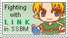 Fighting with Link in SSBM by just-stamps
