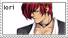 Iori Yagami 16 by just-stamps