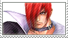 Iori Yagami 17 by just-stamps