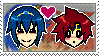 Marth x Roy by just-stamps