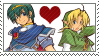Marth x Link by just-stamps