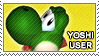 SSBM: Yoshi User by just-stamps