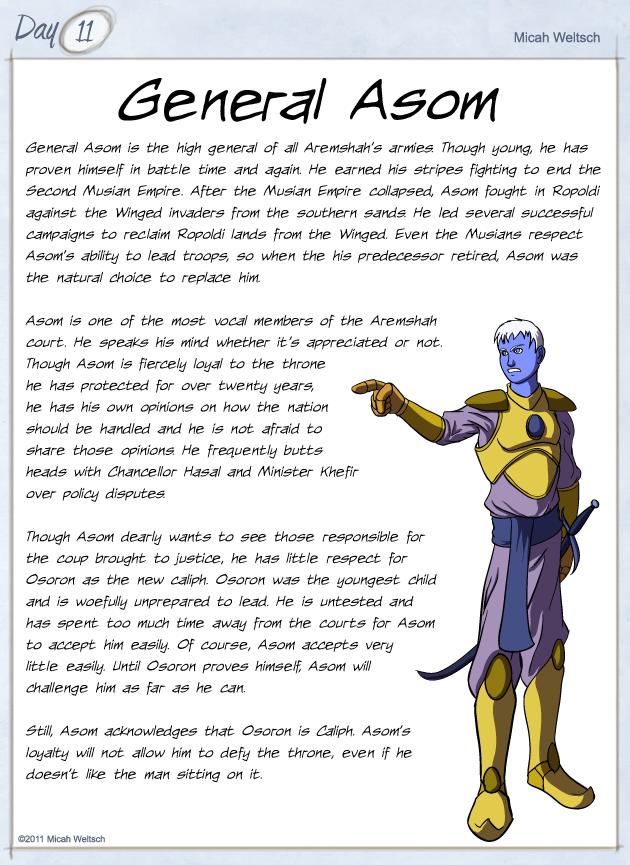 General Asom by micahdraws on DeviantArt