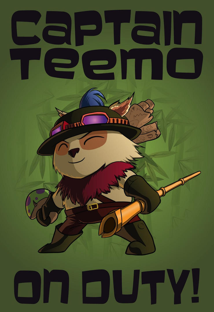 Nakasar Captain_teemo_on_duty_by_frostykzink-d5bkgd8