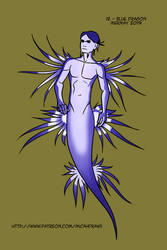 12 Blue Dragon by micahdraws
