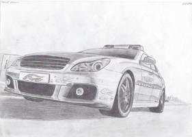 Mercedes-Benz AMG Brabus POLIZ by daharid