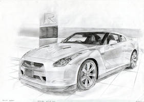 Nissan GT-R R35 Better Quality by daharid