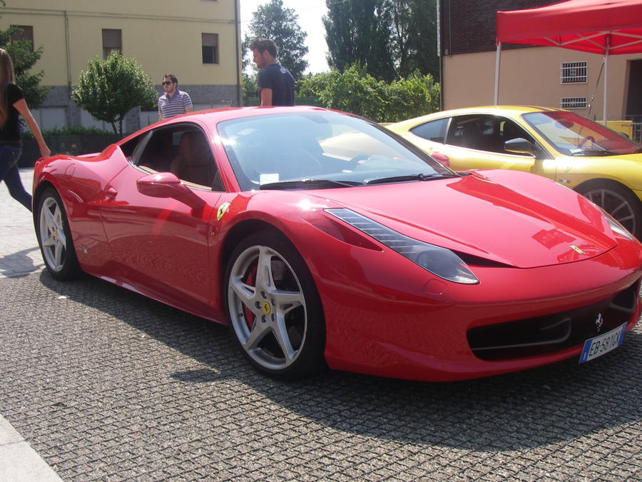 458 red cars - photo #9