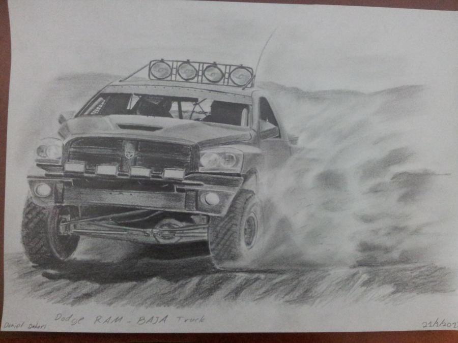 Dodge Ram Baja Truck by daharid on DeviantArt