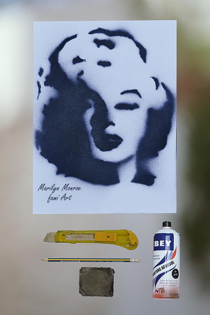 Marilyn Monroe by mechakra