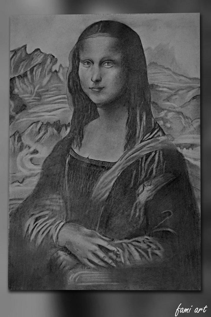 Mona Lisa by mechakra