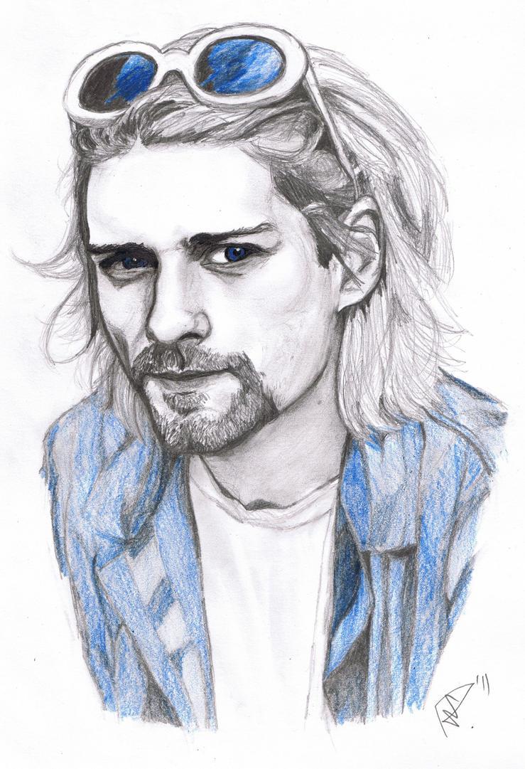 Kurt Cobain by RefleXNerve