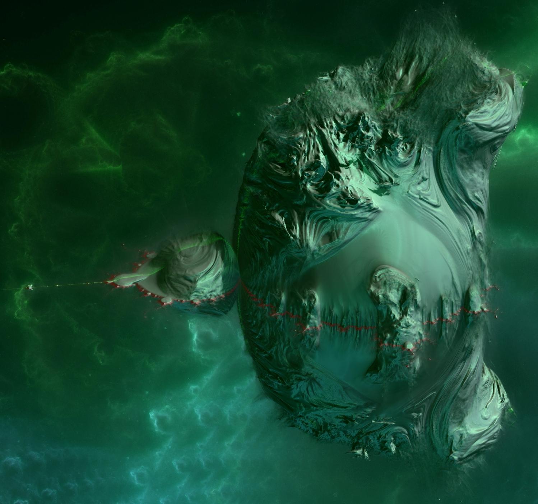 3D Mandelbrot Fractal by KrzysztofMarczak