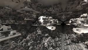 Fractal underground city