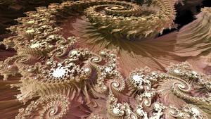 Mandelbulb spirals - low res
