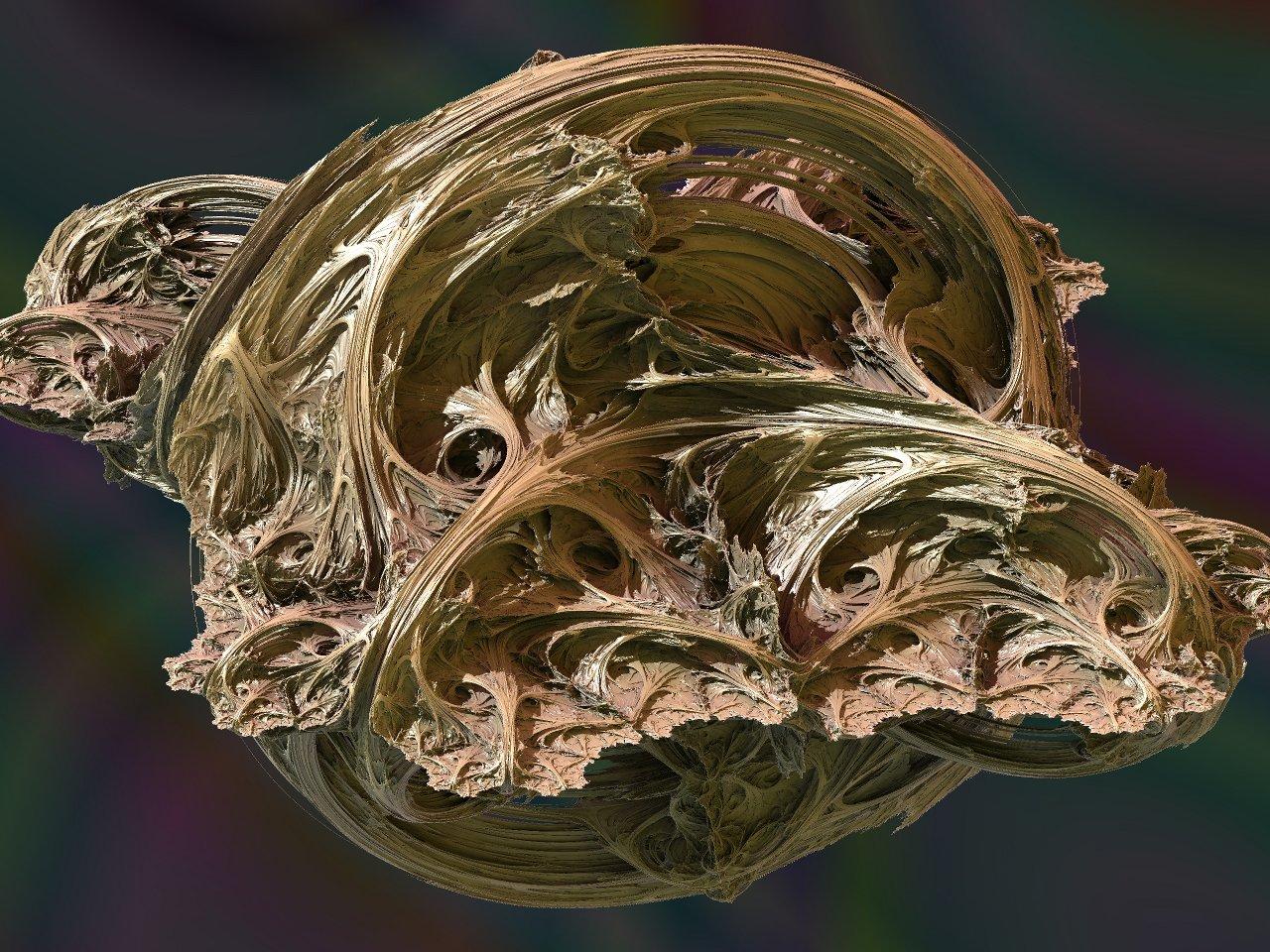 Modified Julia 3D fractal