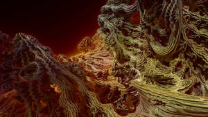 Very hot Mandelbulb 2 by KrzysztofMarczak