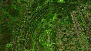 Inside Tglad's Cube fractal 5