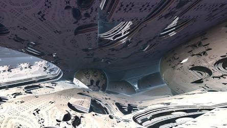 Aliens city by KrzysztofMarczak