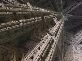 IFS fractal 6 by KrzysztofMarczak